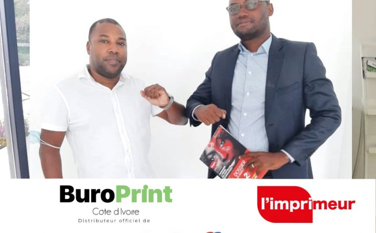 Le groupe BUROPRINT CI Sponsor Officiel de la 2nd Edition de L'IMPRIMEUR